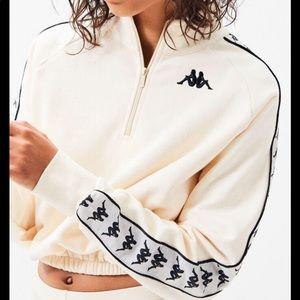 Women's Kappa Half Zip Creme Sweatshirt
